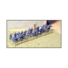 "N SCALE: ""ADVANCING INFANTRY - FROCK COATS & FORAGE CAPS - USA"" - #ACW64 by GHQ!"