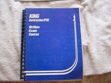 King Instructor  FO1 Written Exam Course