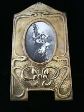 SUBLIME ORIGINAL SCOTTISH ARTS AND CRAFTS, ART NOUVEAU RARE  BRASS PHOTO FRAME