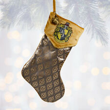 Universal Studios Harry Potter Hufflepuff Christmas Stocking New with Tags