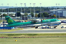 Aer Lingus ATR-72-600 EI-FAT Departing 015 Birmingham Airport 23-8-16 Postcard