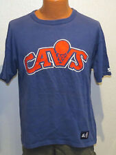 vtg Starter CLEVELAND CAVS 80s t-shirt Fits M/L nba Old Logo rare cavaliers