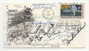 House Committee on Space Apollo 11 Cover Signed by 13 Members