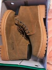 Hiking Boots (Forester USA); Tan; Gen Leather; New In Box; Size 8.5; Never Worn
