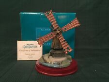 """WDCC Silly Symphony - The Old Mill """"Pastoral Sunset"""" + Box & COA"""