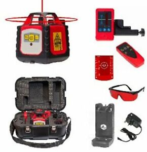 Fukuda FRE 302 Rotary Laser Level Set - Receiver, Remote Control & NiMH Battery