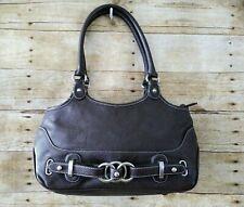 Wilsons Leather Brown Hobo Bag Pebbled Leather Purse Handbag