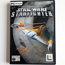 Star Wars Starfighter (PC CD-ROM, 2002 LucasArts) Complete with Manual