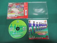 PlayStation -- WORLD SOCCER JIKKYOU WINNING ELEVEN 3 FINAL ver. -- PS1. 22052