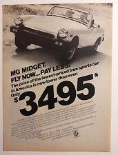 1977 MG Midget Ad - Must See !!