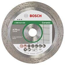 Bosch 2608615020 Disque à tronçonner diamanté best for ceramic 76 mm 1,9 mm