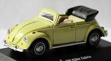 VW Volkswagen Käfer Cabrio 1300 Beetle 1966-67 1:72 beige