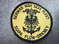 Scapa Flow Orkney German High Seas Fleet Diving Cloth Patch Badge (L10K)