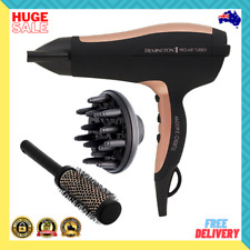 NEW Remington D5220AU Pro Air Turbo 2400W Professional Hair Dryer BRAND NEW AU