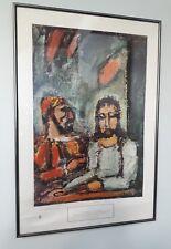 "GOD JESUS CHRIST MUSEUM CANVAS 30W/""x40H/"" TRINITY FATHER SON HOLY SPIRIT AMEN"