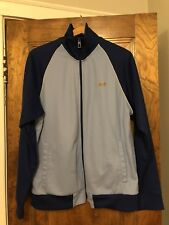 Le Tigre Classic Vintage Track Jacket XL Blue Retro Zipper Full Zip Sport