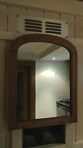 Antique small arched top mirror .VICTORIAN ?.