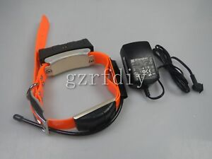 Garmin DC30 GPS dog Tracking Collar with wall  charger  and orange  strap