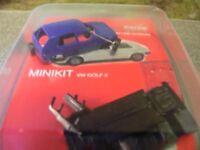 1/87 Herpa MiniKit VW Golf II 4-türig blau 012195-005