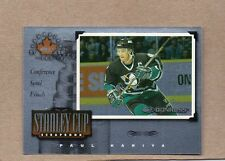 paul kariya ducks 1997/98 canadian ice scrapbook card 20 1210/1500 donruss