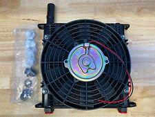 New ListingFlex-A-Lite Engine Oil Cooler 32 Row 7/8-14 10in Fan 700032