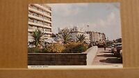 Postcard posted 1984 Sussex, Bexhill on sea marina