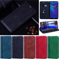 Matte Leather Wallet Flip Magnetic Cover Case For Huawei P30 Lite Y5P Y7P Y72019