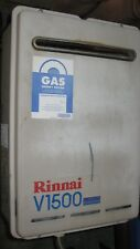 Rinnai V1500 Natural Gas Hot water system