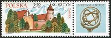 Scott # 1820  - 1971 - ' Olsztyn Castle ', Nicolaus Copernicus (1473-1543)
