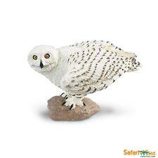 Snowy Owl replica ~ Safari Ltd #264729 Wings of the World toy bird ~ NEW