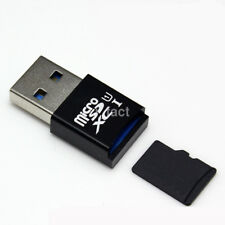 Mini High Speed USB 3.0 Port Micro SD SDXC TF Memory Card Reader Adapter New US