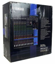 Yamaha MG16XU - 16-Input Mixer w/ Built-In FX + 2-In/2-Out USB Interface (USED)