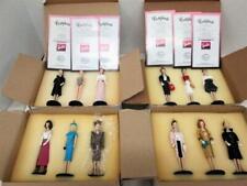 1995 CLASSIC BARBIE ORNAMENTS Set of 12 in Box Ashton Drake Collection w/ COA