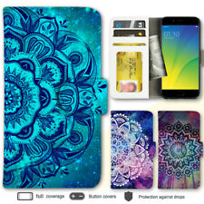 R15 Pro Find X R11s R9s A57 Case Mandala IV Print Wallet Leather Cover For OPPO