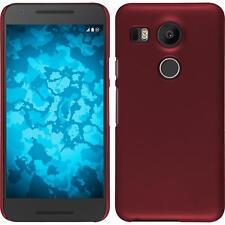 Funda Rígida LG G2 mini - goma rojo protector de pantalla