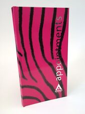 Agenda 3 Column Appointment Book - Pink Zebra - Salons, Hair, Beauty etc ..