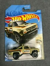 Hot Wheels BAJA BLAZERS 1/10 '87 Dodge D100 64/250 2019 L👀K 1/64 Scale