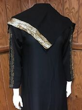 Umbrella Fancy Dubai Khaleeji Abaya Muslim Jilbab With Hijab Size S 54