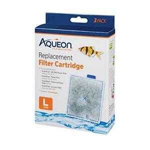Aqueon Replacement Filter Cartridges Large - 3 pack