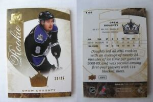 2008-09 UD The CUP #146 Drew Doughty 23/25 RC gold Rookie RARE