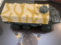 GI Joe 1983 APC Amphibious Personnel Carrier w/ Gun Turret & Rear Bumper Hasbro