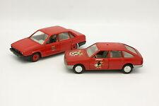 Mira - Solido 1/43 - Lot de 2 Talbot Tagora et Chrysler 150 GLS Pompiers