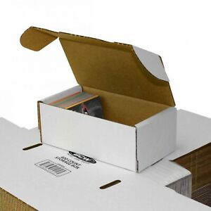 Lot of 100 - BCW 400 Count Cardboard Sports Trading Card Storage Box Boxes
