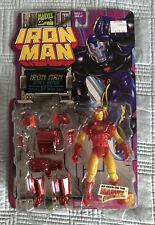 Toy Biz Marvel Iron Man 1995 Space Armor Figure (MOC) Disney+ Action Hour