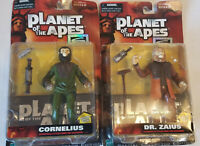Planet of the Apes Cornelius Dr Zaius Action Figure Hasbro Special Edition 1999