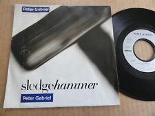 "DISQUE 45T DE PETER GABRIEL  "" SLEDGEHAMMER """