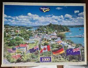 Jigsaw puzzle - 1000 piece - Russell bay of islands  scene  - free post