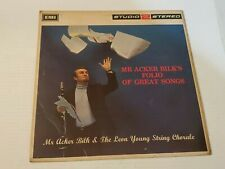 Mr. Acker Bilks Folio Of Great Songs Vinyl Record LP Leon Young String Chorale