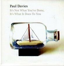 (BA12) Paul Davies, It's Not What You've Done - 2010 CD