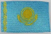 Kasastan Aufnäher gestickt,Flagge Fahne,Patch,Aufbügler,6,5cm,neu